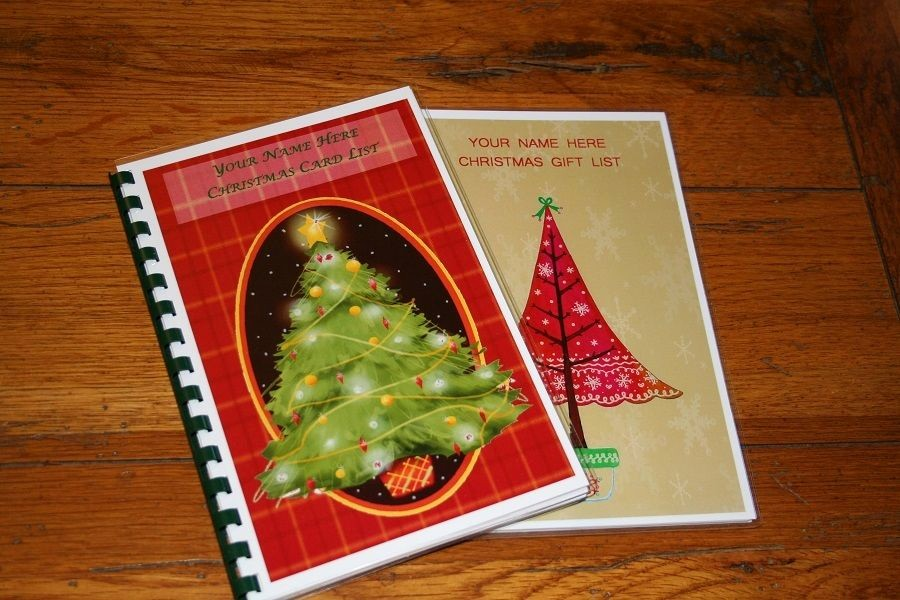 Christmas Card List Address Book Elegant Christmas Card Address Book & Christmas Gift List