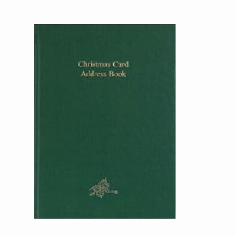 Christmas Card List Address Book Unique Cc54b Christmas Card Address Book Charfleet Book Bindery