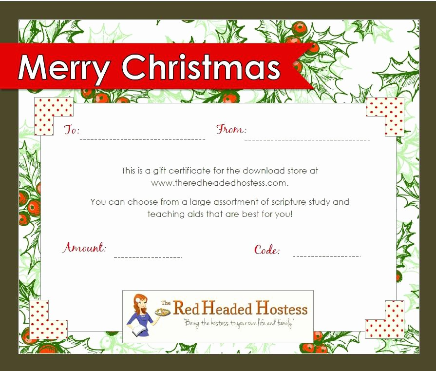 Christmas Certificate Template Free Download Best Of Gift Card Template Design Christmas Voucher Free Download