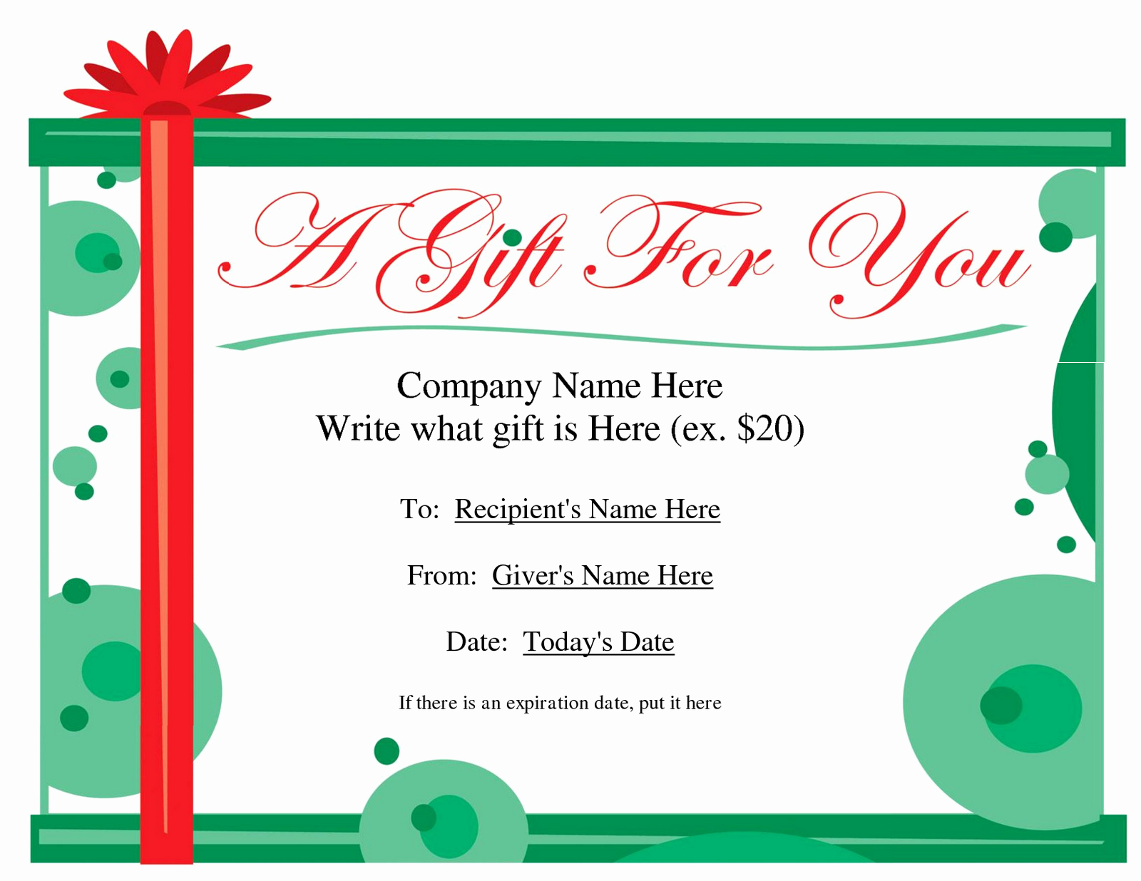 """Christmas Certificate Template Free Download Best Of Search Results for """"christmas Gift Certificate Template"""