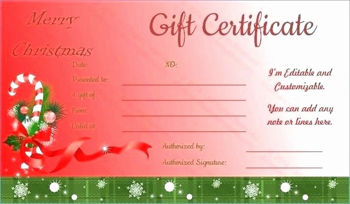 Christmas Certificate Template Free Download Inspirational Christmas T Certificates Free – Puebladigital