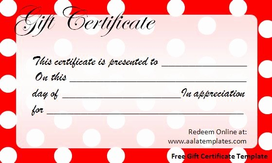 Christmas Certificate Template Free Download Lovely 30 Printable Gift Certificates