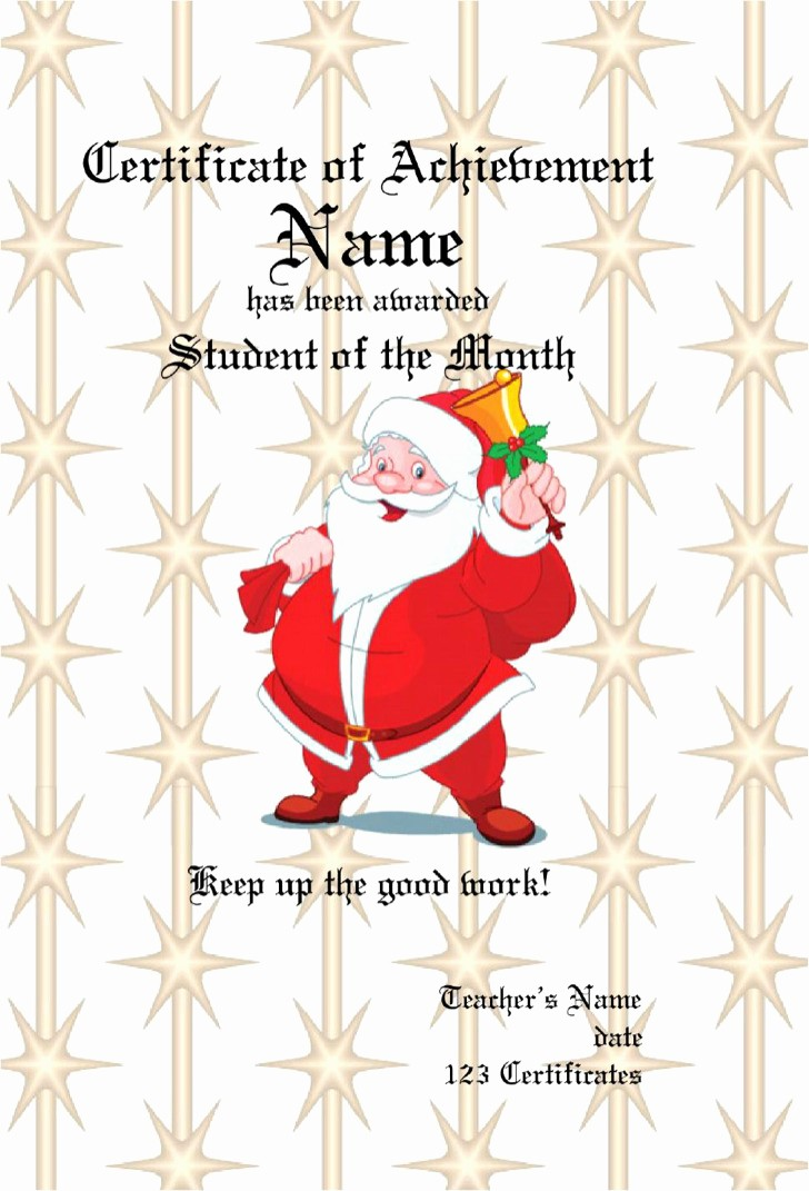 Christmas Certificate Template Free Download New 16 Christmas Gift Certificate Templates Free Download