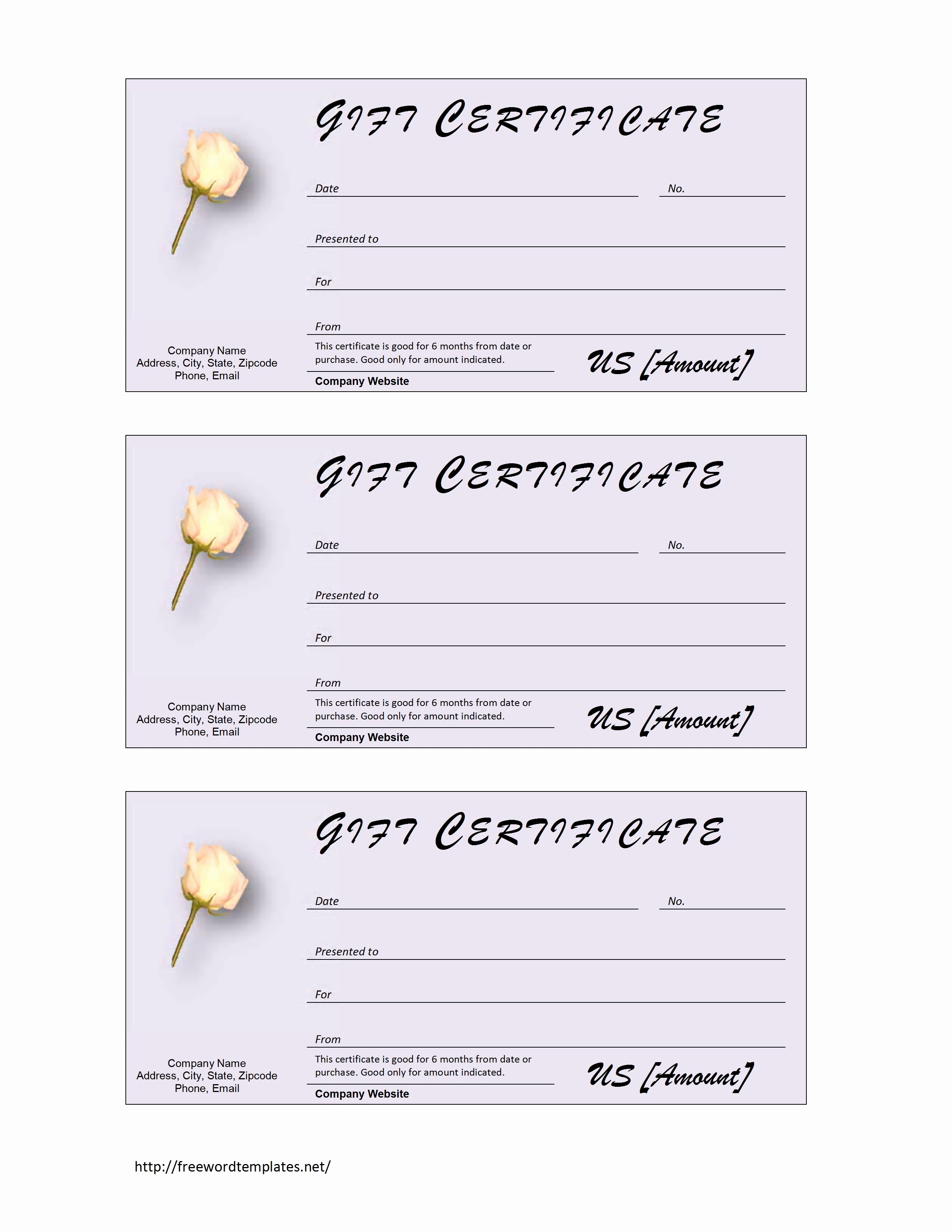 Christmas Certificates Templates for Word Awesome Blank Gift Certificate Template Mughals