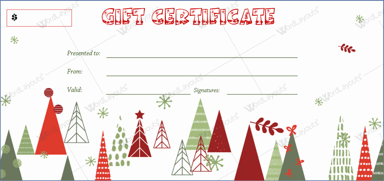 Christmas Certificates Templates for Word Inspirational 20 Awesome Christmas Gift Certificate Templates to End 2017