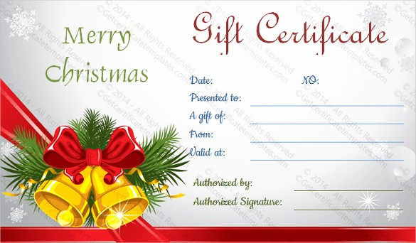 Christmas Certificates Templates for Word Inspirational 23 Holiday Gift Certificate Templates Psd