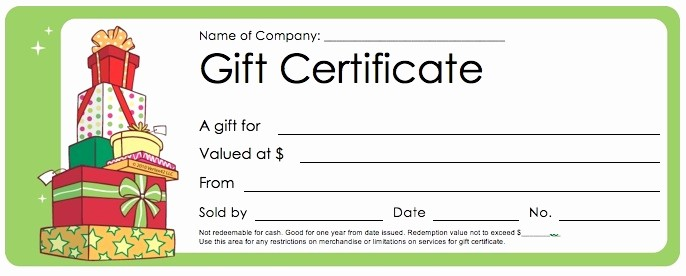 Christmas Certificates Templates for Word Luxury Christmas Gift Certificates Templates Invitation Template