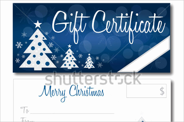 Christmas Certificates Templates for Word New 24 Christmas Gift Certificate Templates Free Word Pdf