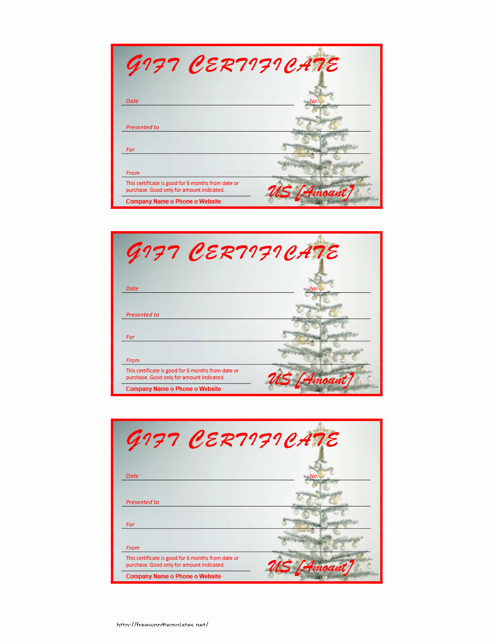 Christmas Certificates Templates for Word New Certificate Archives