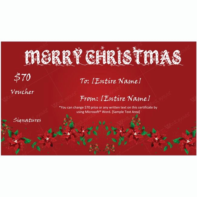 Christmas Certificates Templates for Word Unique 61 Best Merry Christmas Gift Certificate Templates Images