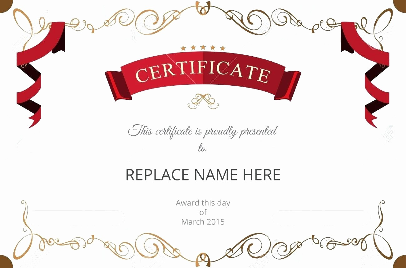 Christmas Certificates Templates for Word Unique Template Christmas Certificate Template