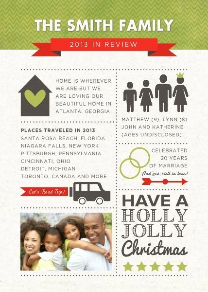 Christmas Family Newsletter Template Free Best Of 17 Best Images About Christmas On Pinterest