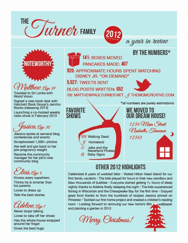 Christmas Family Newsletter Template Free Fresh Infographic Template Category Page 2 Efoza
