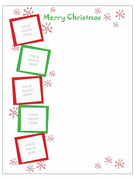 Christmas Family Newsletter Templates Free New 19 Free Christmas Letter Templates Downloads Free