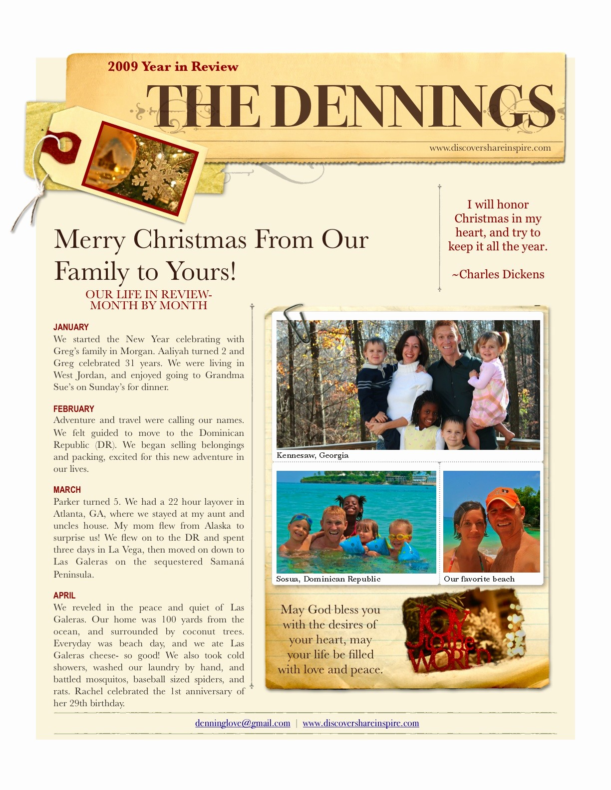 Christmas Family Newsletter Templates Free New Best S Of Holiday Family Newsletter Template