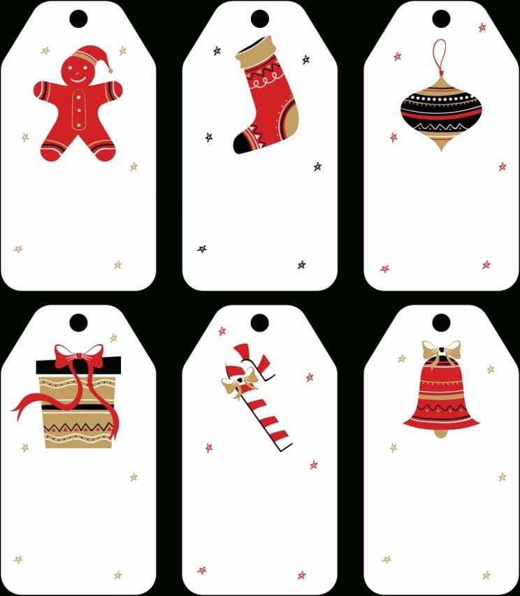 Christmas Gift Tag Template Word Inspirational Free Christmas Gift Tag Template Word