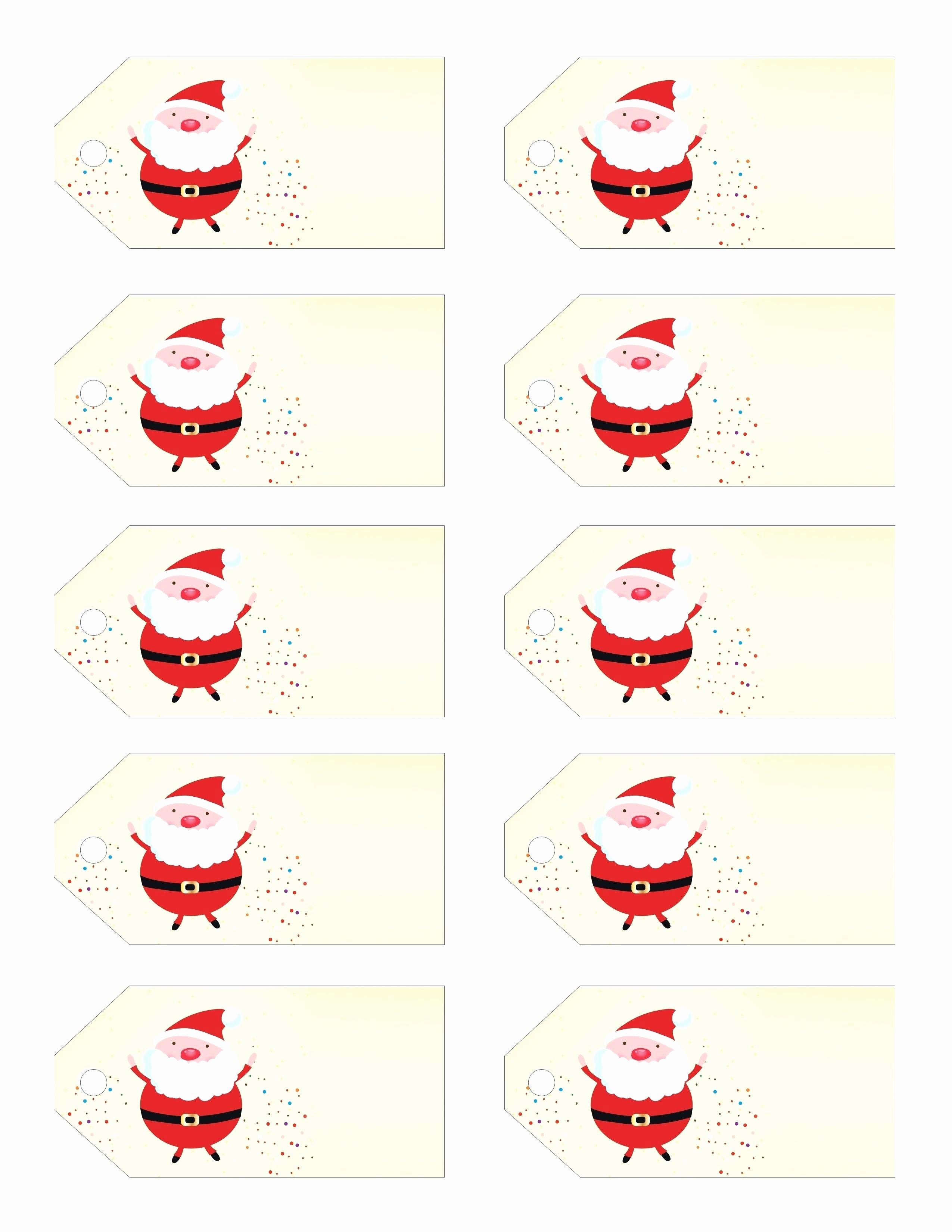 Christmas Gift Tag Template Word Inspirational Template Christmas Gift Label Template