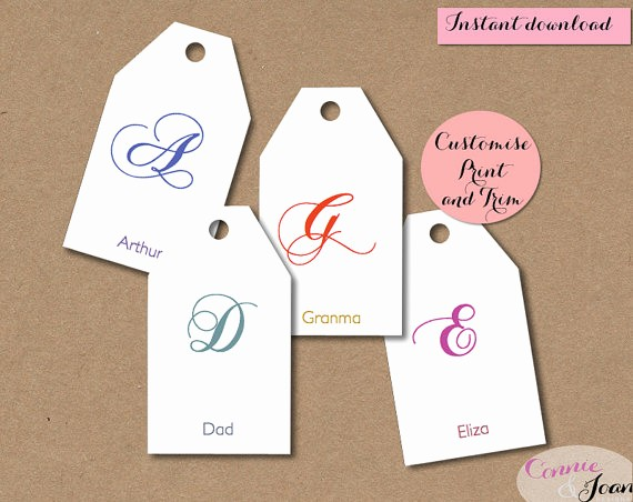 Christmas Gift Tag Template Word Lovely 6 Best Of Editable Printable Gift Tags Birthday