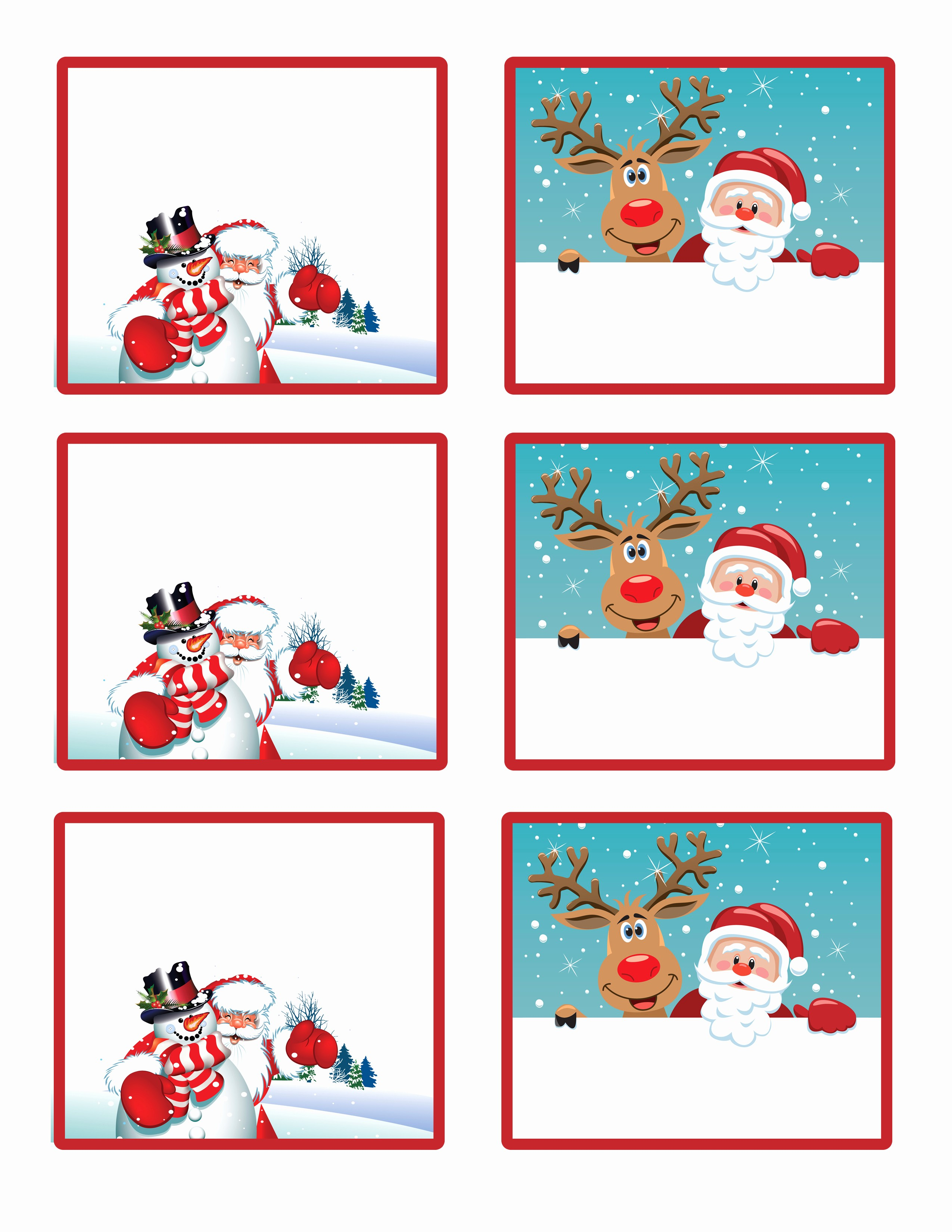 Christmas Gift Tag Template Word Luxury Santa S Little T to You Free Printable Gift Tags and