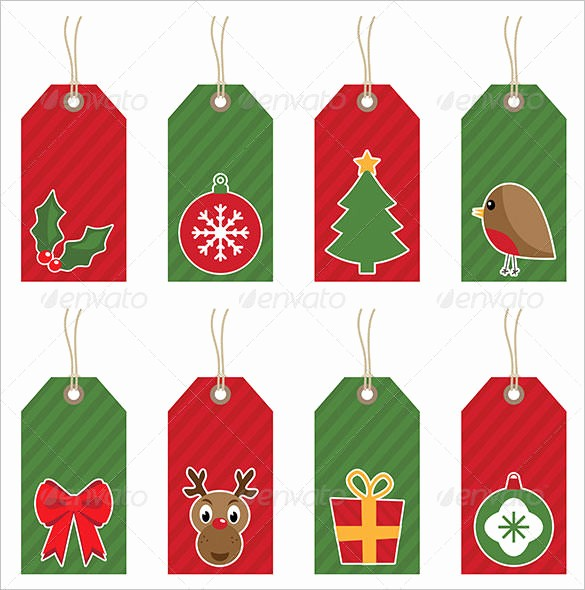 Christmas Gift Tags Template Free Awesome 25 Christmas Stationery Templates Free Psd Eps Ai
