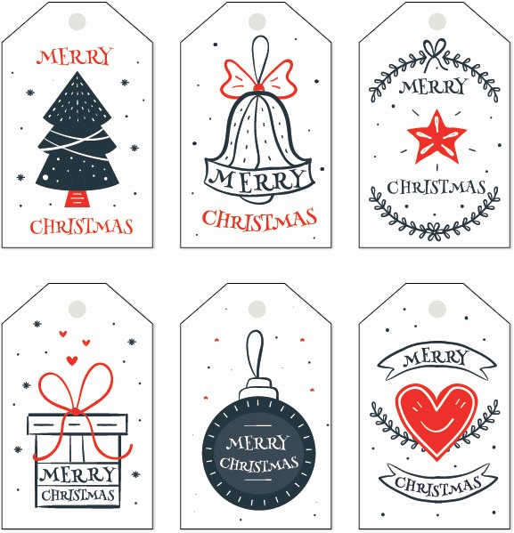 Christmas Gift Tags Template Free Beautiful Free Christmas Gift Tag Templates Editable & Printable