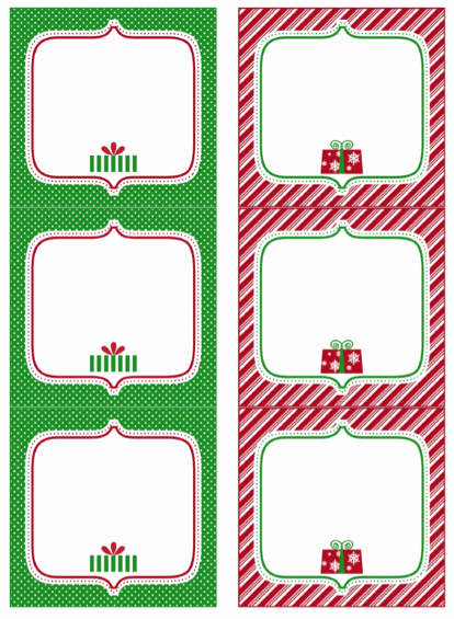 Christmas Gift Tags Template Free Beautiful Free Printable Christmas Gift Tags