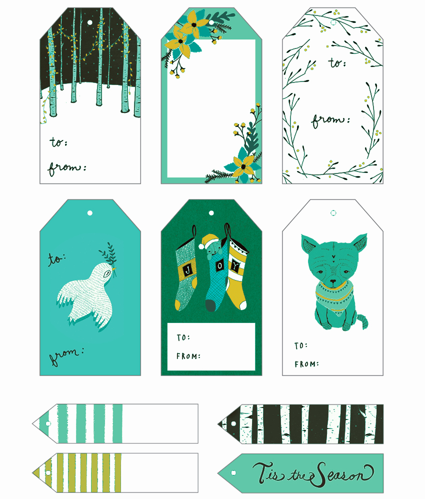 Christmas Gift Tags Template Free Best Of 5 Gift Tag Templates to Create A Personalized Gift Tag