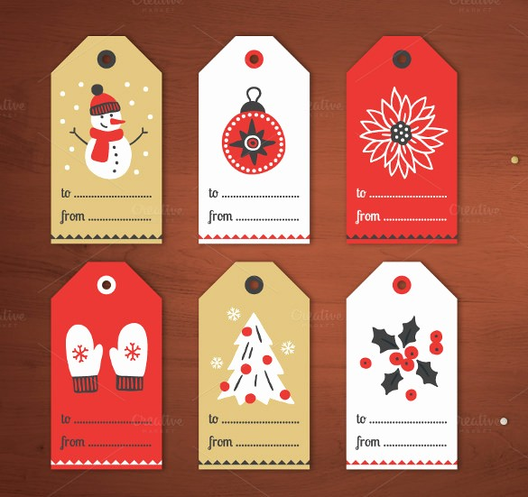 Christmas Gift Tags Template Free Lovely 26 Favor Tag Templates – Free Sample Example format