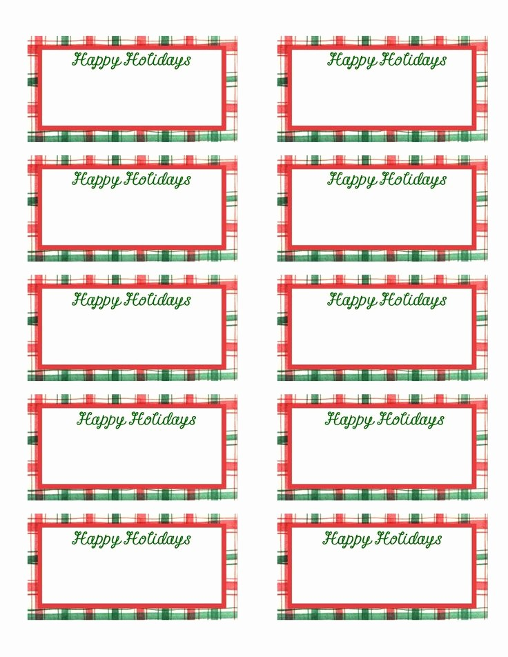 Christmas Gift Tags Template Free Luxury Best 25 Gift Tag Templates Ideas On Pinterest