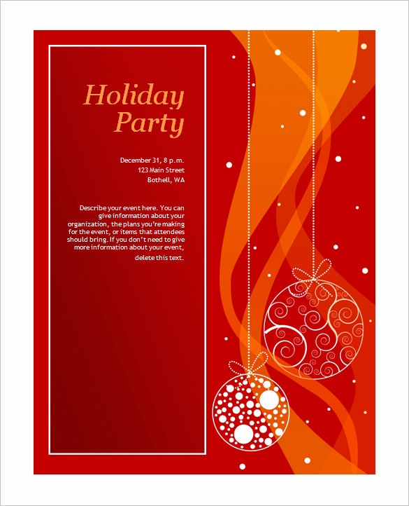 Christmas Invitations Templates Free Microsoft Beautiful 50 Microsoft Invitation Templates Free Samples