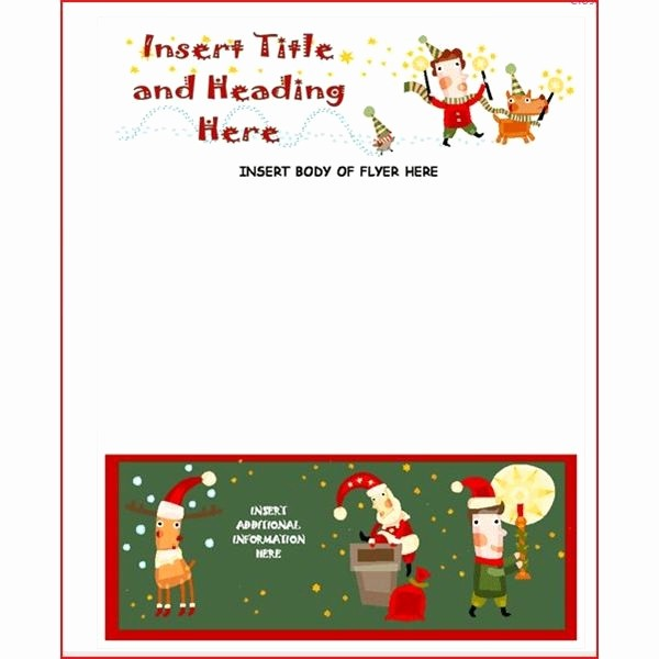 Christmas Invitations Templates Free Microsoft Best Of Microsoft Fice Christmas Template Invitation Template