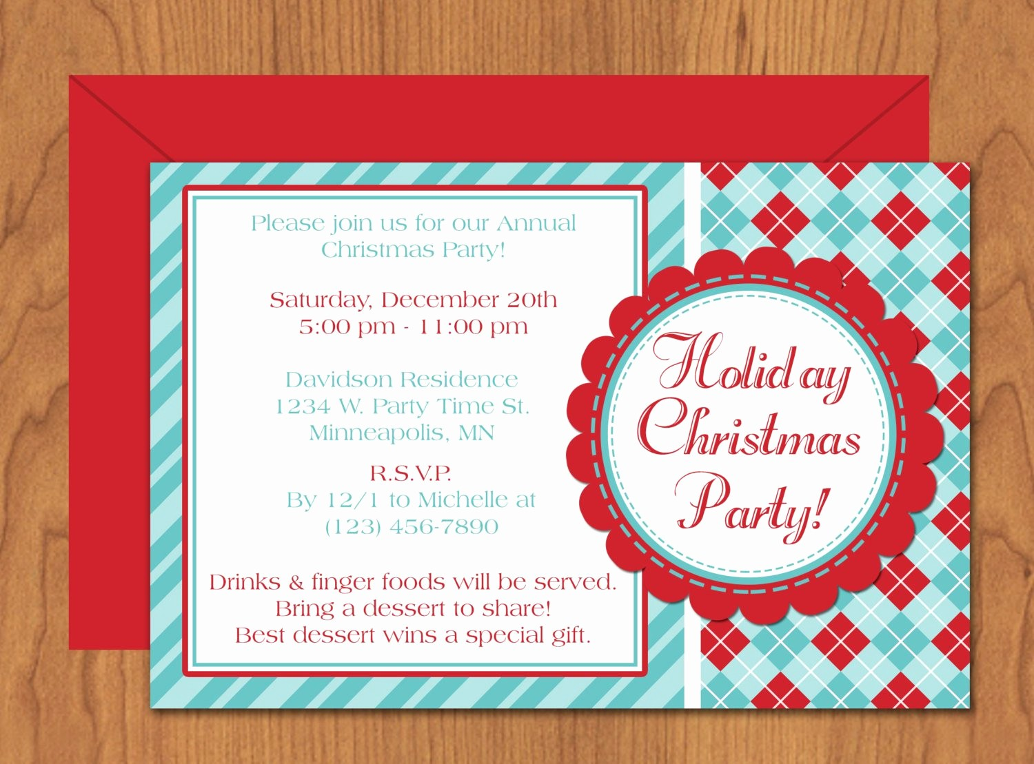 Christmas Invitations Templates Free Microsoft Elegant Christmas Party Invitation Editable Template Microsoft