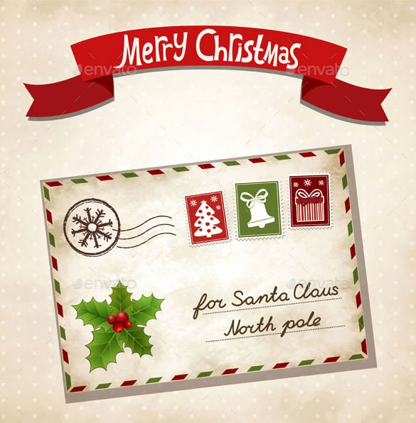Christmas Letter Template with Photos Lovely 37 Christmas Letter Templates Free Psd Eps Pdf format