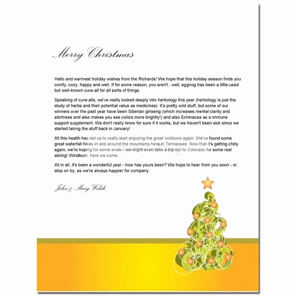 Christmas Letter Template with Photos New Guide to Finding A Free Christmas Letter Template
