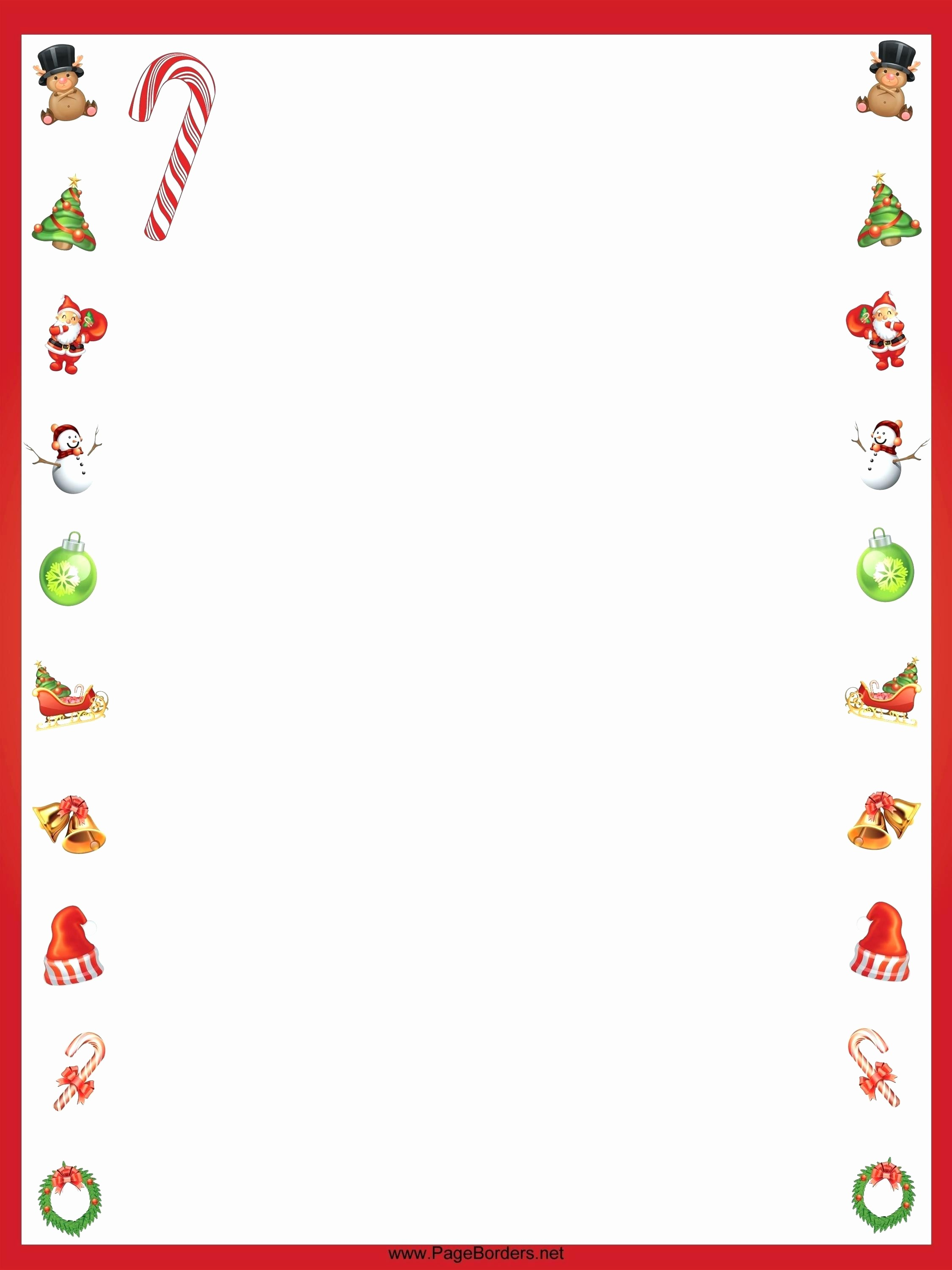 Christmas Letter Template with Photos Unique Printable Christmas Letter Template