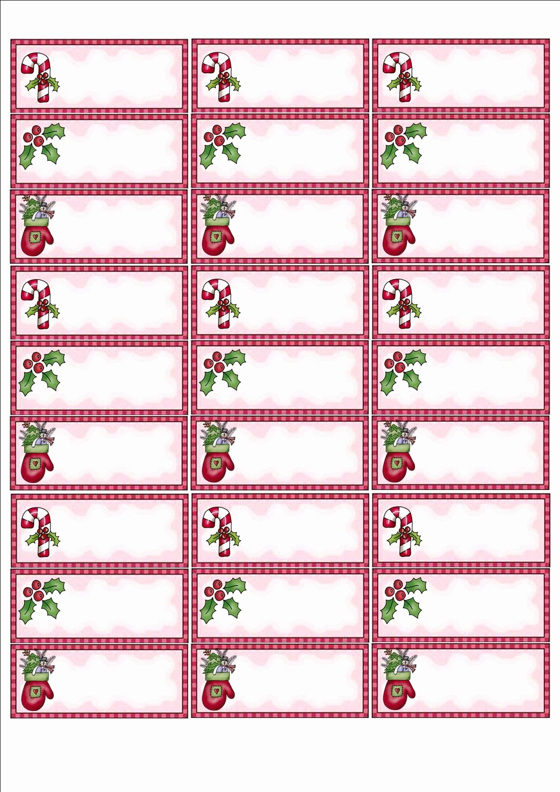 Christmas Mailing Labels Template Free Lovely Free Printable Labels Templates Design Template Address