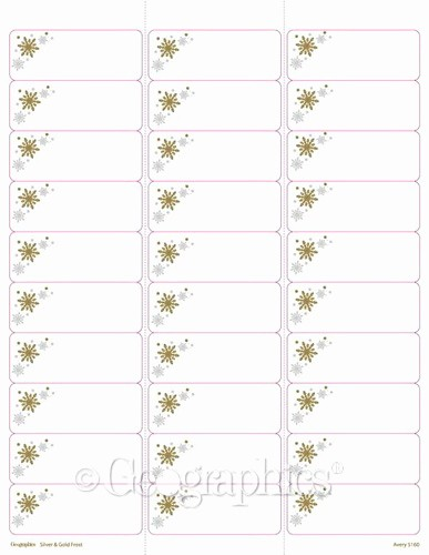Christmas Mailing Labels Template Free New Christmas Clip Art for Return Address Labels Clipart