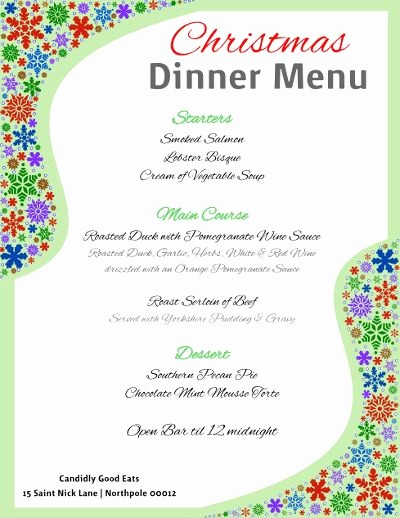 Christmas Menu Templates Free Download Awesome 1000 Images About Free Flyer Templates