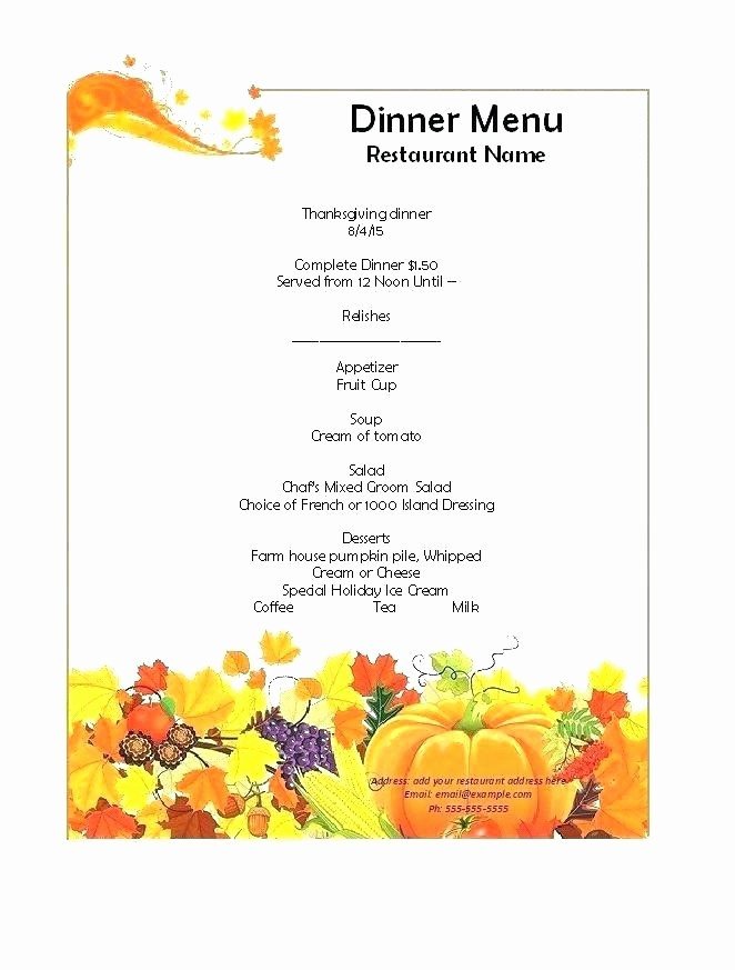 Christmas Menu Templates Free Download Lovely Christmas Dinner Menu Word Template Free Vector – Skincense