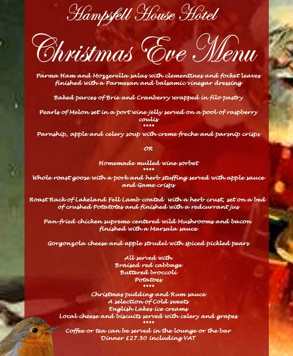 Christmas Menu Templates Free Download Lovely Christmas Menu Template – 30 Free Psd Eps Ai