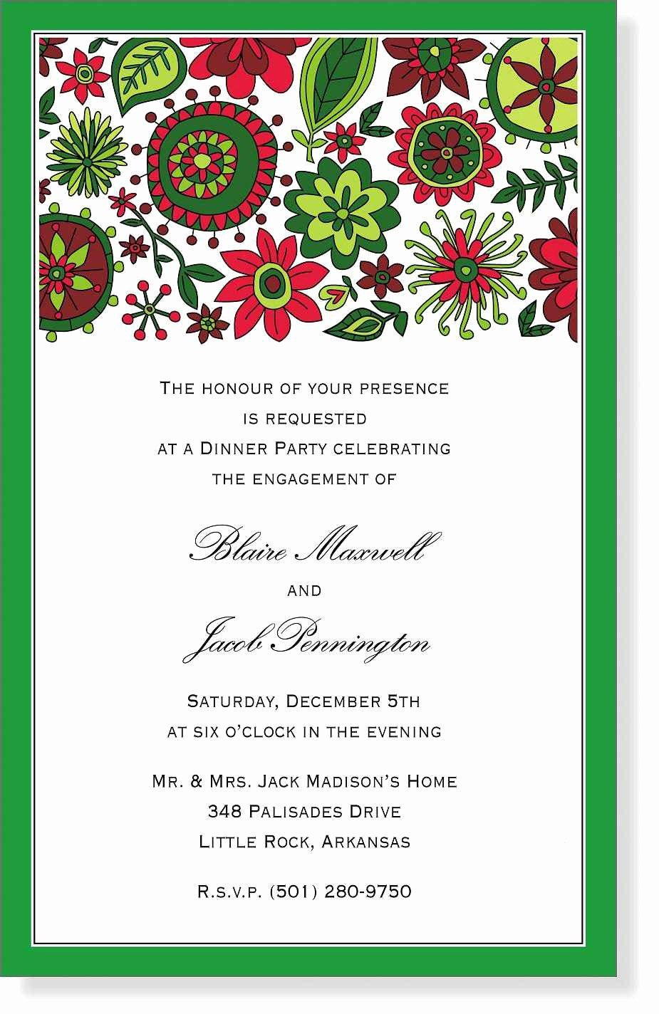 Christmas Party Invitation Free Template Beautiful Christmas Party Invitation Template