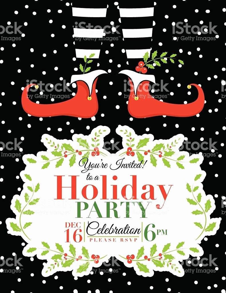 Christmas Party Invitation Free Template Beautiful Free Holiday Party Invitation Templates Word Chamunesco