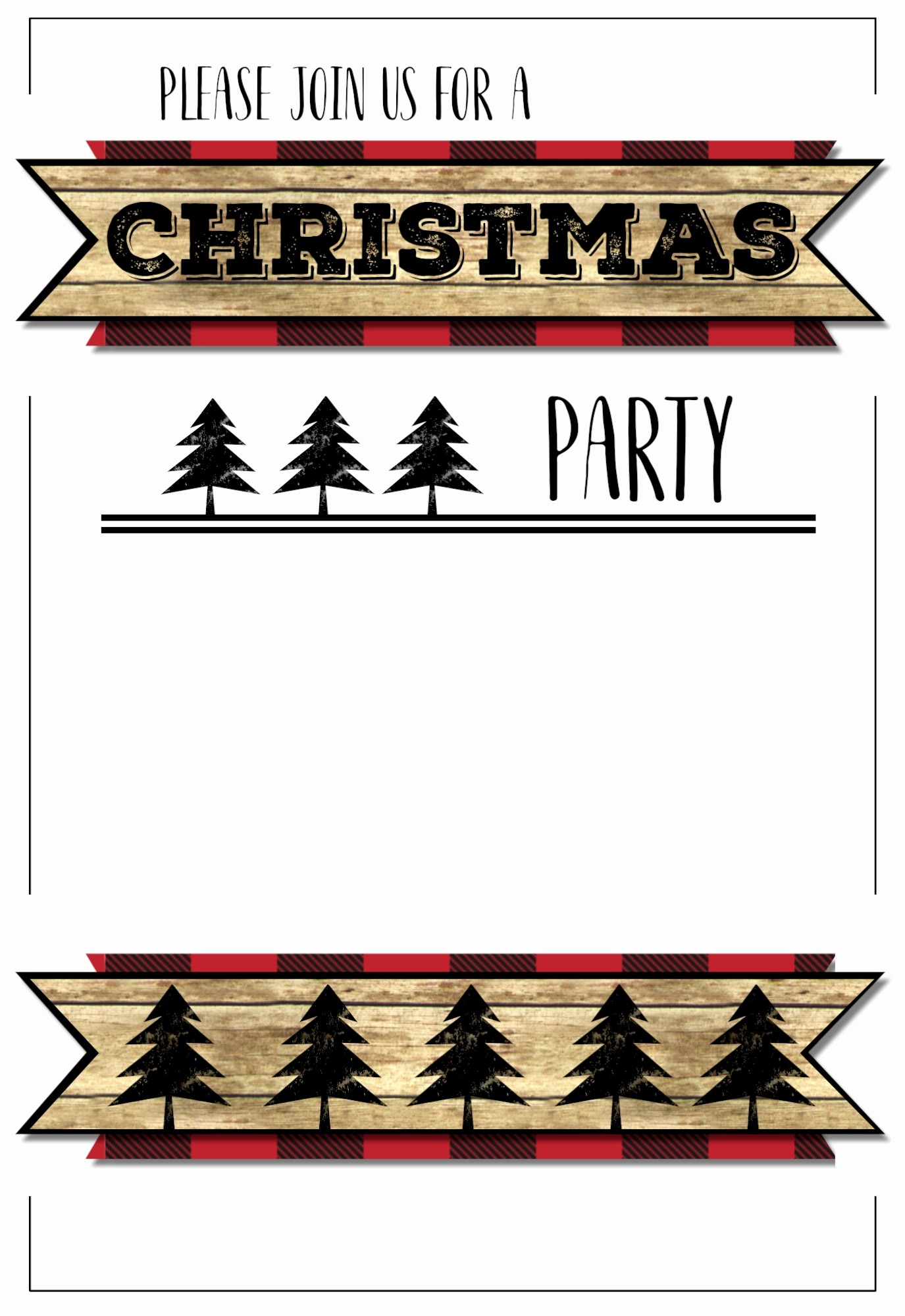 Christmas Party Invitation Free Template Inspirational Christmas Party Invitation Templates Free Printable