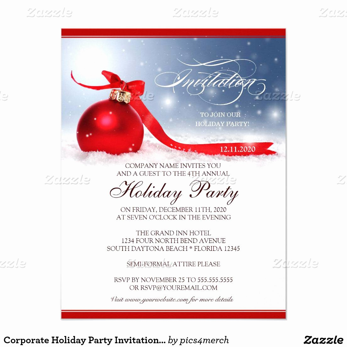 Christmas Party Invitation Free Template Unique Christmas Party Invitation Template