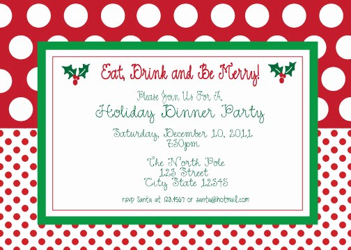 Christmas Party Invitations Free Template Best Of Free Printable Christmas Party Invitations Template