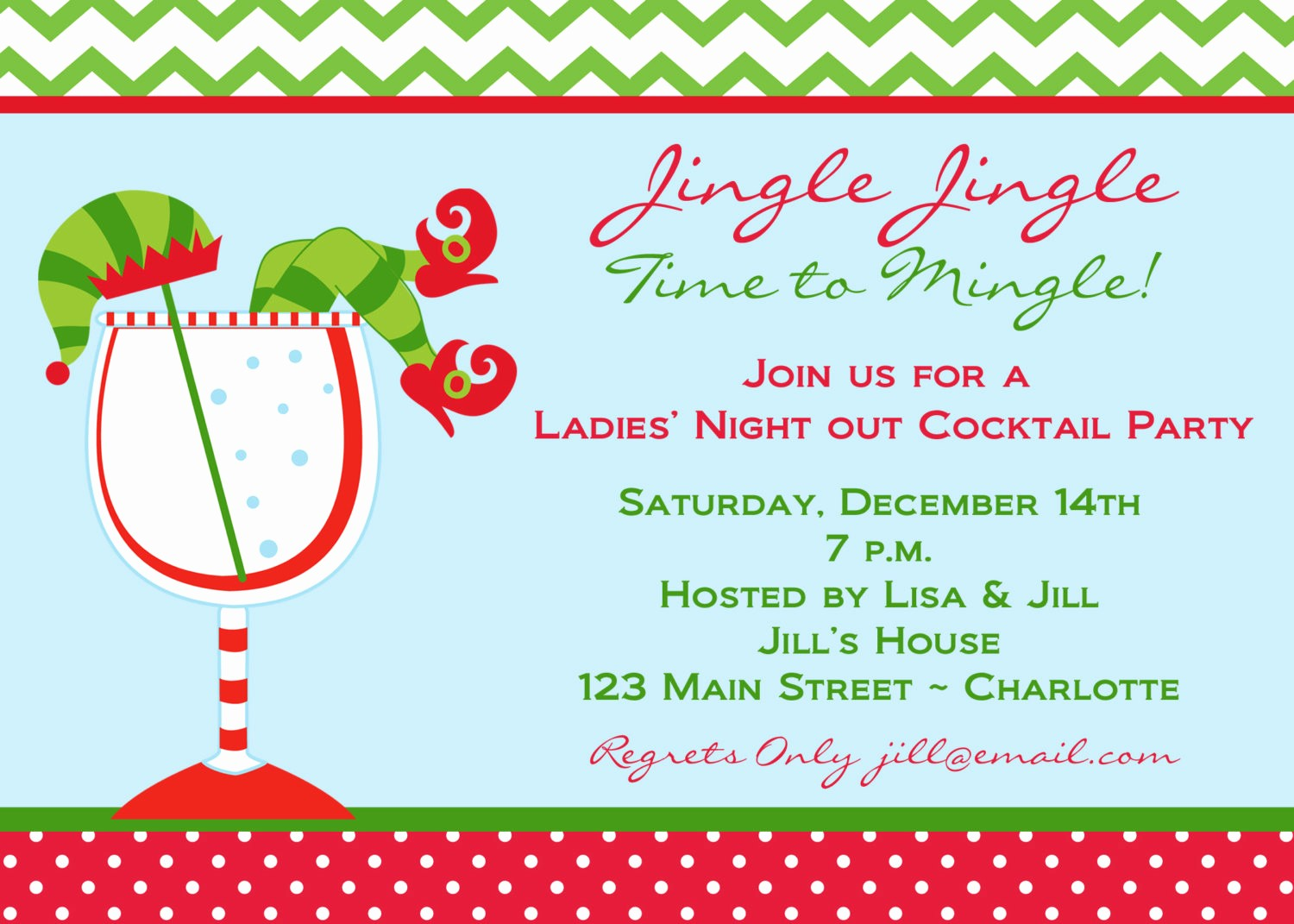 Christmas Party Invitations Free Template Luxury Christmas Cocktail Party Invitations Christmas Cocktail