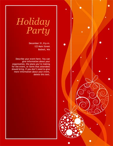 Christmas Party Invitations Free Template Unique Free Christmas Party Invitation Templates Word