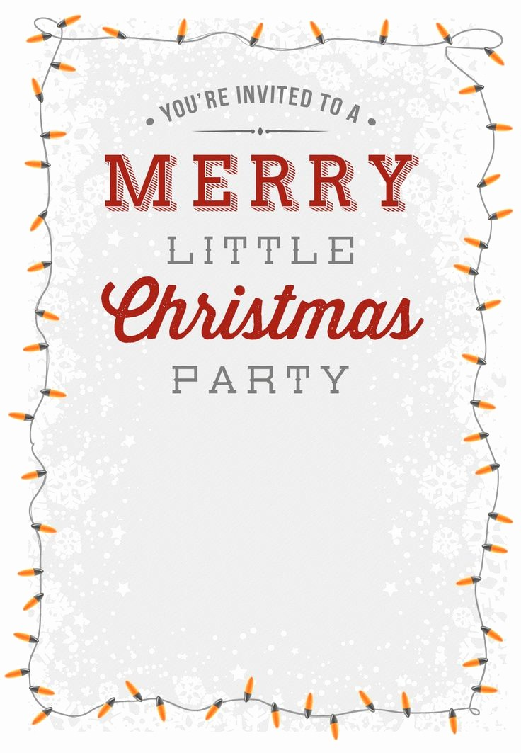 Christmas Party Invite Free Template Best Of Best 25 Free Christmas Invitation Templates Ideas On