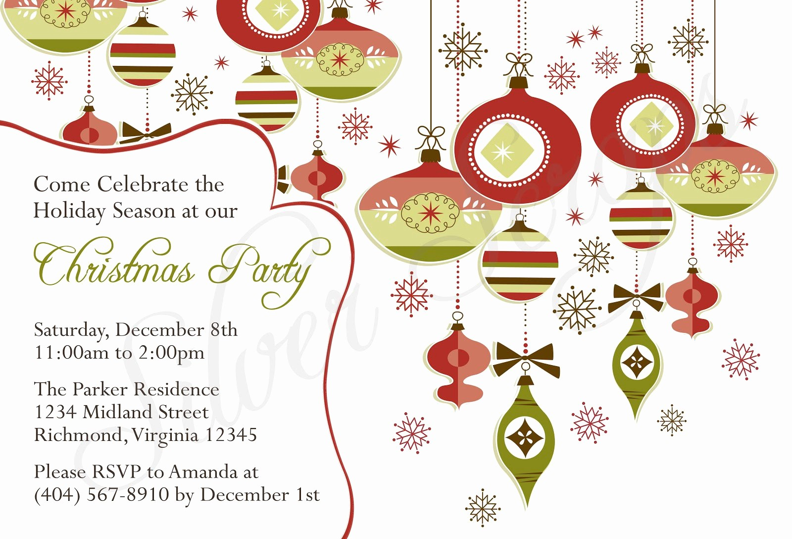 Christmas Party Invite Free Template Lovely Religious Christmas Invitation Templates