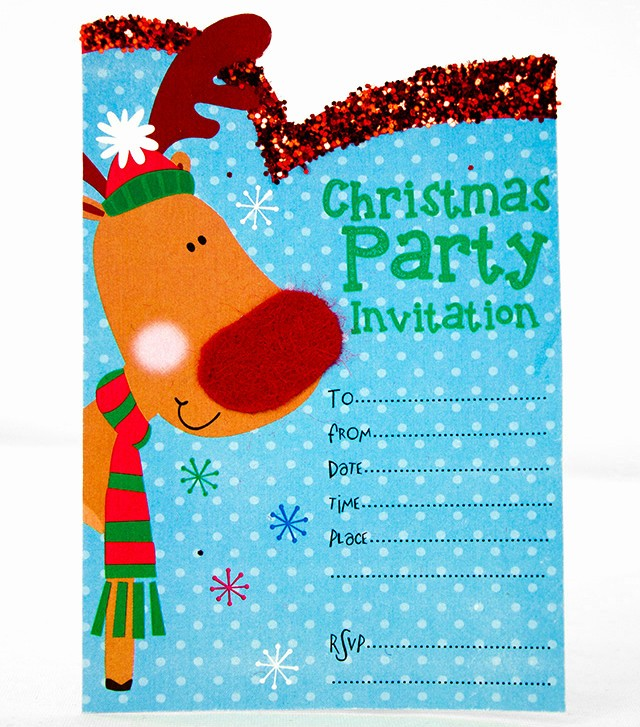 Christmas Party Invite Free Template New Free Printable Christmas Invitation Templates